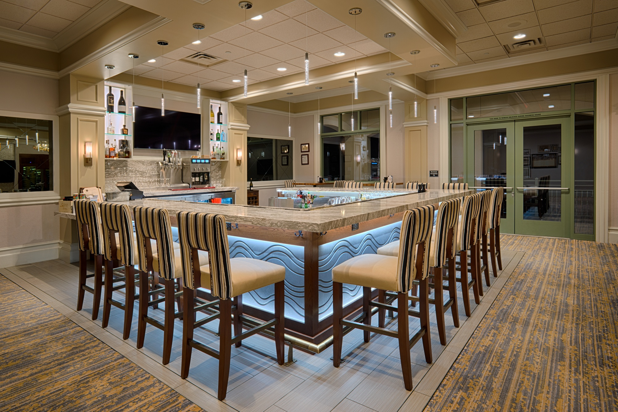 Santa Rosa Golf and Country Club, Food and Beverage Center