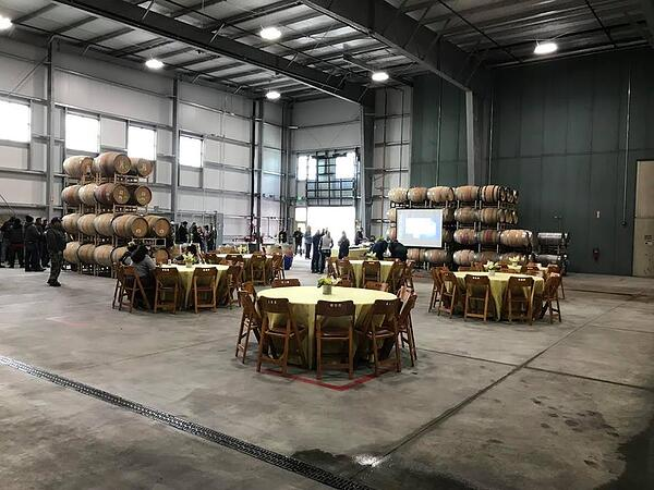 Waterfowl Barrel Building, Project Completion Celebration