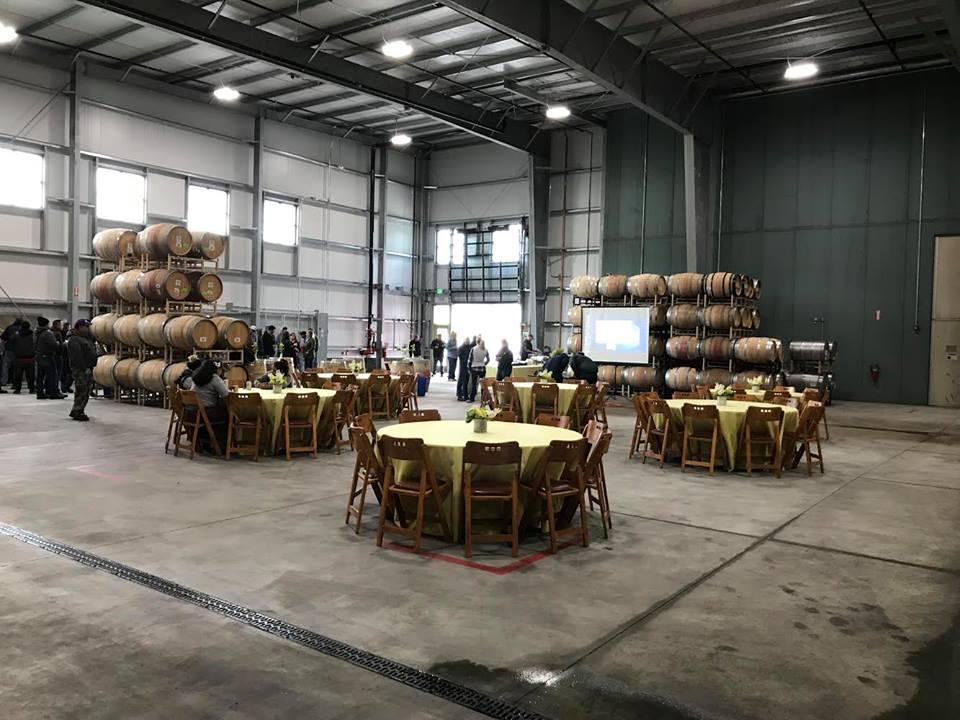 Duckhorn Waterfowl Barrel Building Celebration