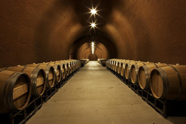 Kenzo Estate, Wine Cave